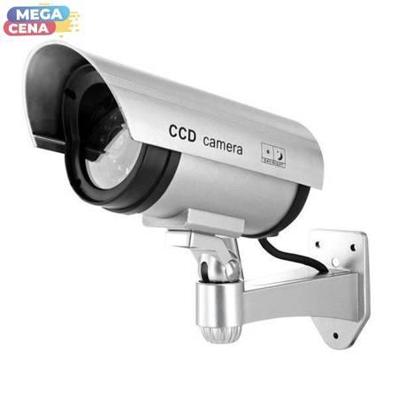 4World SECURITY Atrapa kamery do monitoringu wew./zew. z diodą LED