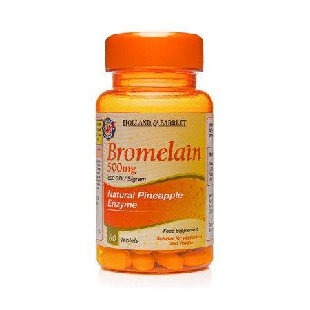 Bromelaina 500 mg 60 Tabletek