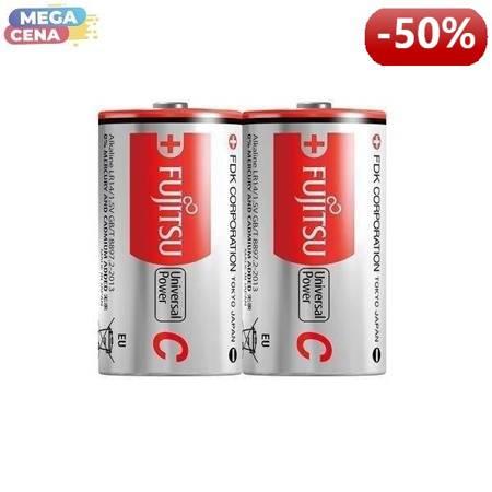 FUJITSU Bateria alkaliczna LR14 N, 1.5V, 2szt, shrink