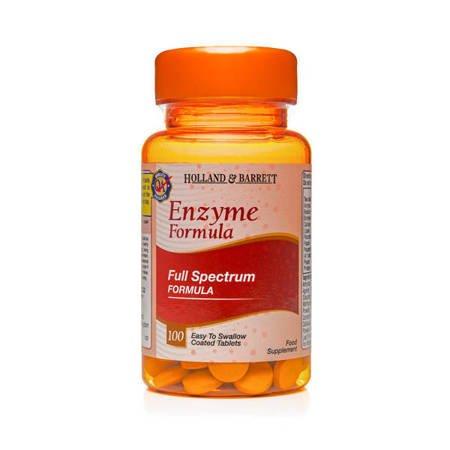 Holland & Barrett Enzymy Trawienne 100 Tabletek