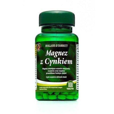 Magnez i Cynk 100 Tabletek