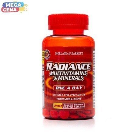 Radiance Multiwitaminy i Minerały 1 na Dzień 240 Tabletek