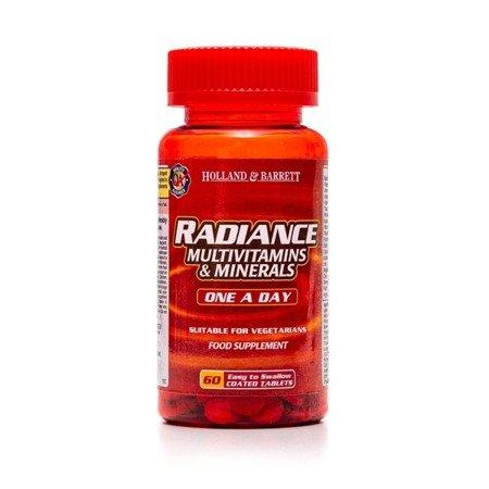 Radiance Multiwitaminy i Minerały 1 na Dzień 60 Tabletek
