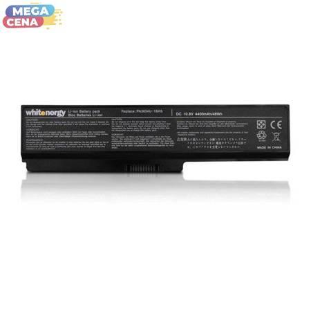 Whitenergy Bateria Toshiba PA3634 / PA3636 10,8V 4400mAh czarna