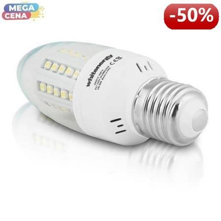 Whitenergy Żarówka LED 2W  E27 C35 SMD3528 ciepła 230V Świeczka / mleczne