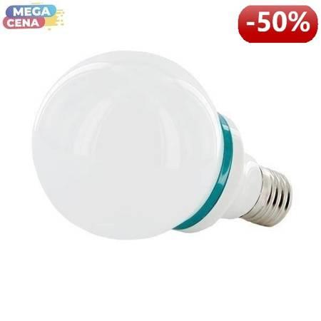 Whitenergy Żarówka LED B80 E27 4W  Zimna biała Mleczna