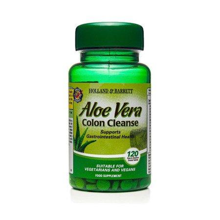 Zestaw Suplementów 2+1 (Gratis) Aloe Vera Oczyszczanie Jelit 330 mg 120 Tabletek