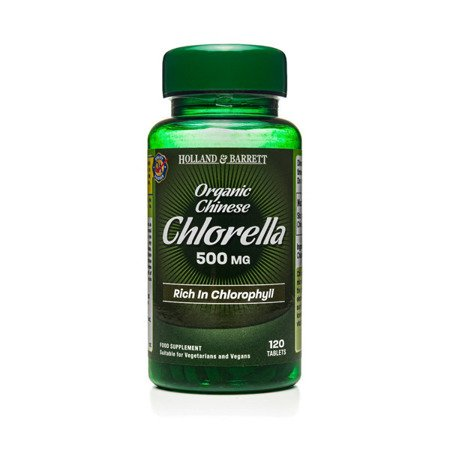 Zestaw Suplementów 2+1 (Gratis) Chlorella Chińska 500 mg 120 Tabletek
