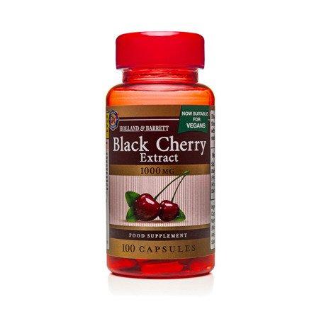 Zestaw Suplementów 2+1 (Gratis) Ekstrakt z Czarnej Wiśni 1000 mg Produkt Wegański 100 Kapsułek