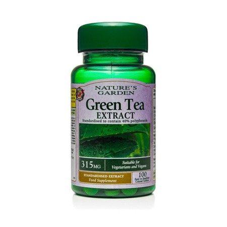 Zestaw Suplementów 2+1 (Gratis) Ekstrakt z Zielonej Herbaty 315 mg 100 Tabletek