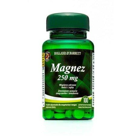 Zestaw Suplementów 2+1 (Gratis) Magnez 100 Tabletek 250mg