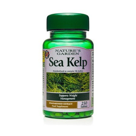 Zestaw Suplementów 2+1 (Gratis) Morszczyn Pęcherzykowaty 15 mg 250 Tabletek
