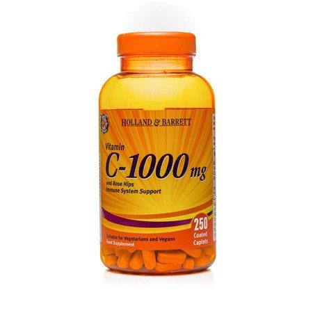 Zestaw Witamin 2+1 (Gratis) Witamina C 1000 mg z Dziką Różą 250 Kapletek