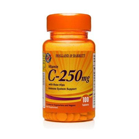 Zestaw Witamin 2+1 (Gratis) Witamina C 250 mg z Dziką Różą 100 Tabletek