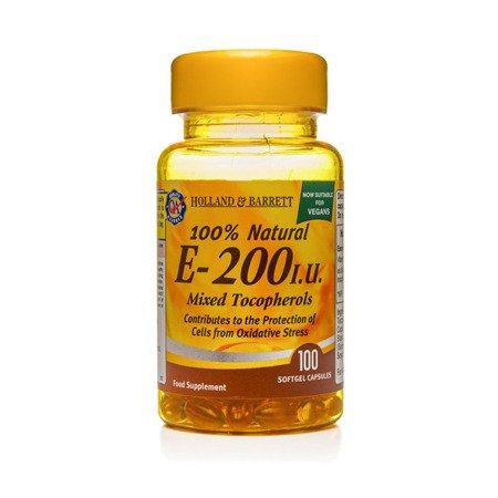 Zestaw Witamin 2+1 (Gratis) Witamina E Kompleks 200 j.m. Produkt Wegański 100 Kapsułek Żelowych