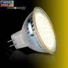 Whitenergy Żarówka LED 3W  GU5.3 MR16 SMD3528 ciepła 12V / szybka